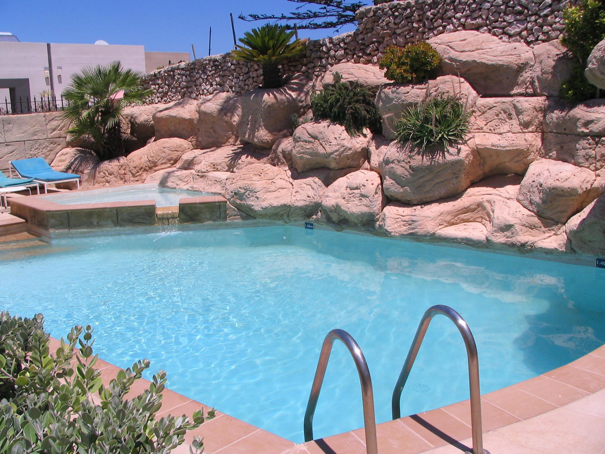 Villa Apartments Pool Area